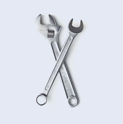 skrzyżowane klucze