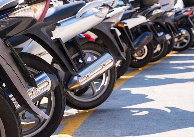 wystawa skuterów